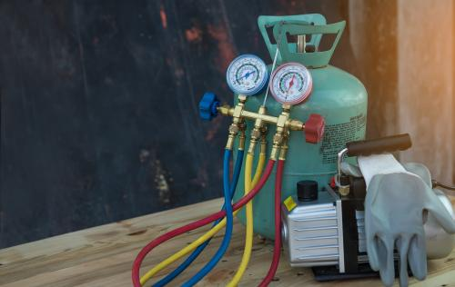 air conditioning repair and refrigerant